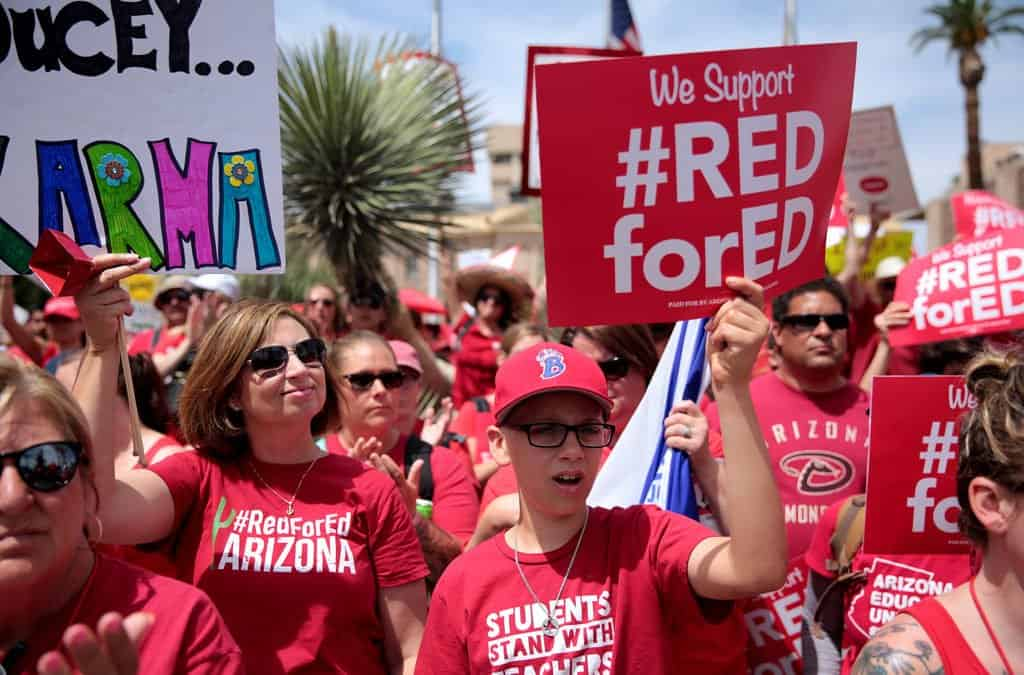 Polling the Teacher Walkouts: Strong Support for the Teachers, Unions, and Future Labor Action
